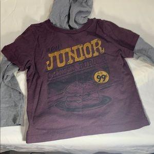 Child's hooded shirt